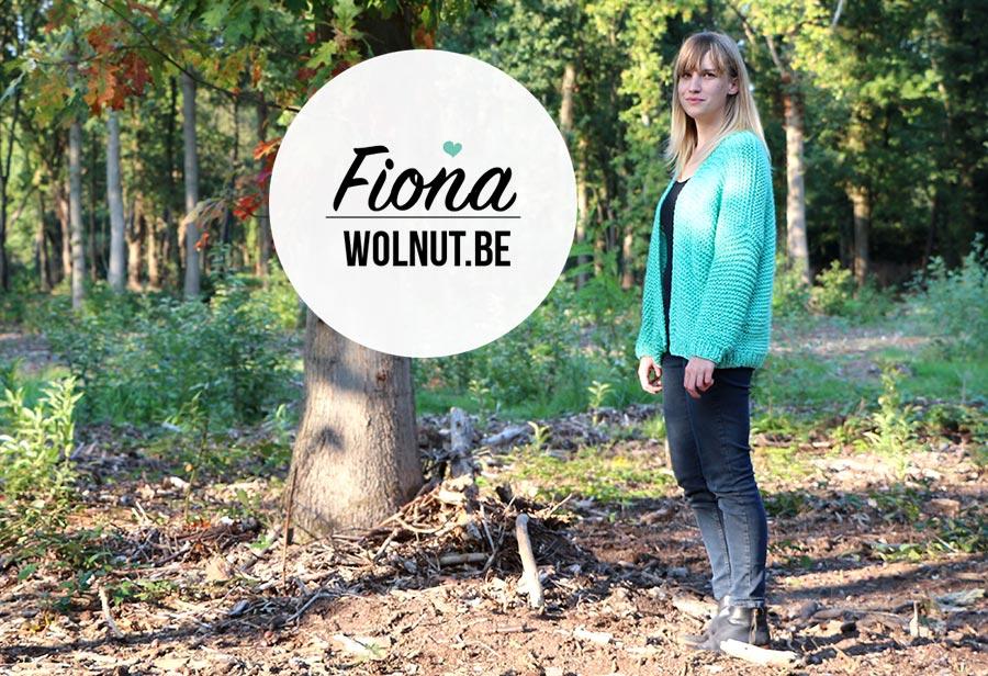 Fiona breipakket voor een oversized vest ontworpen door Wolnut