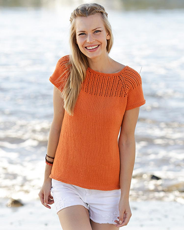Orange Dream Top