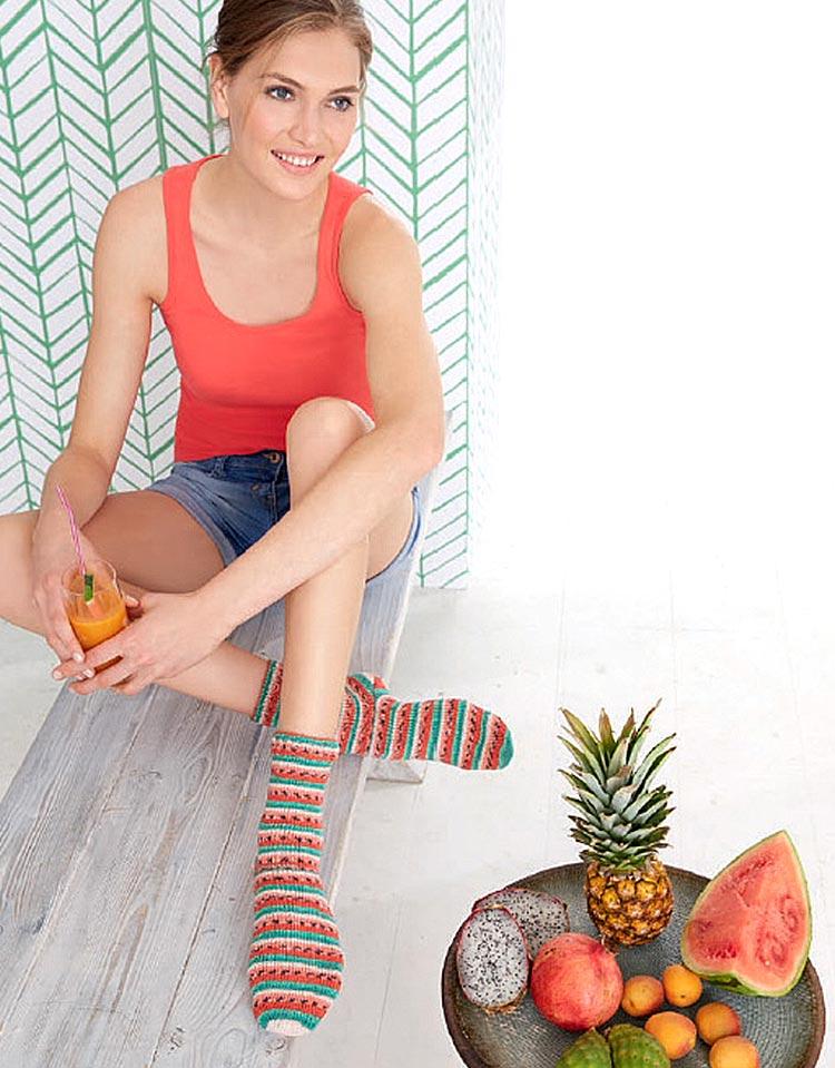 Tutti Frutti zomersokken