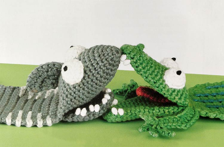 Katinka de krokodil en Hans haai