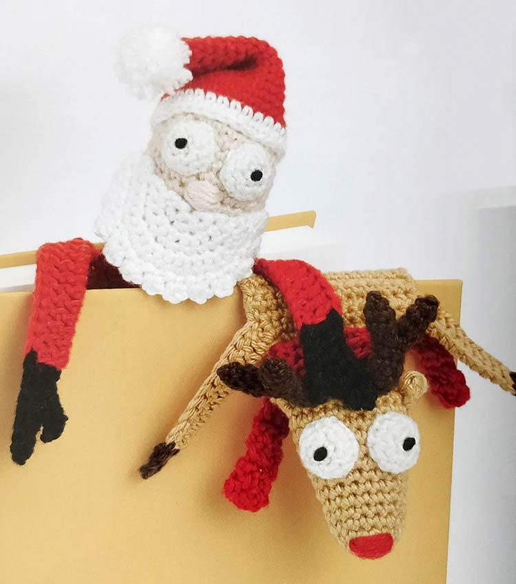 Rudolf en kerstman Kamiel