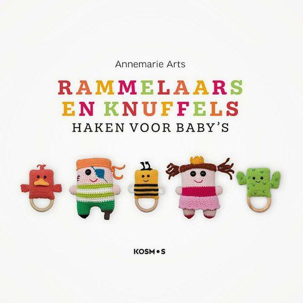 Rammelaars en knuffels Haken voor baby's