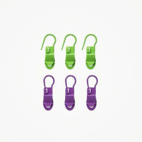 Stekenmarkeerders Locking Stitch met clip (6 stuks) Clover