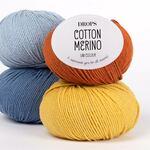 Cotton Merino Drops