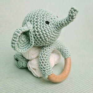 Rammelaar Olifant Haakpakket Hardicraft