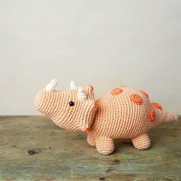 Triceratops dinosaurus Haakpakket Hardicraft