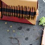 Ginger Korte Verwisselbare Rondbreinaaldenset Deluxe KnitPro