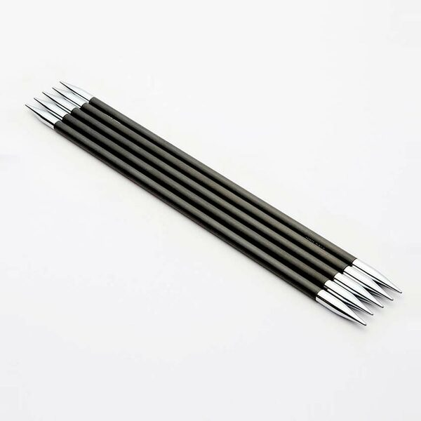 KnitPro Karbonz Sokkennaalden 15 cm