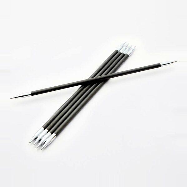 Karbonz Sokkennaalden 15 cm KnitPro