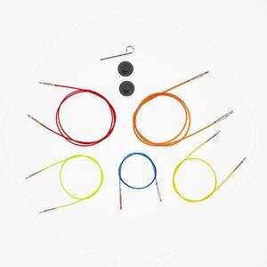 KnitPro kabel kleurgecodeerd voor verwisselbare naaldpunten