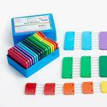 Knitblockers doosje 20 stuks blockers Regenboog KnitPro
