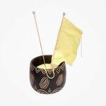 Yarn Bowl Leafy KnitPro