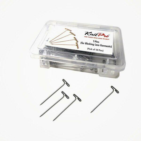 KnitPro T-pins blocking - 50 stuks