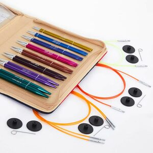 KnitPro Zing Deluxe Rondbreinaaldenset
