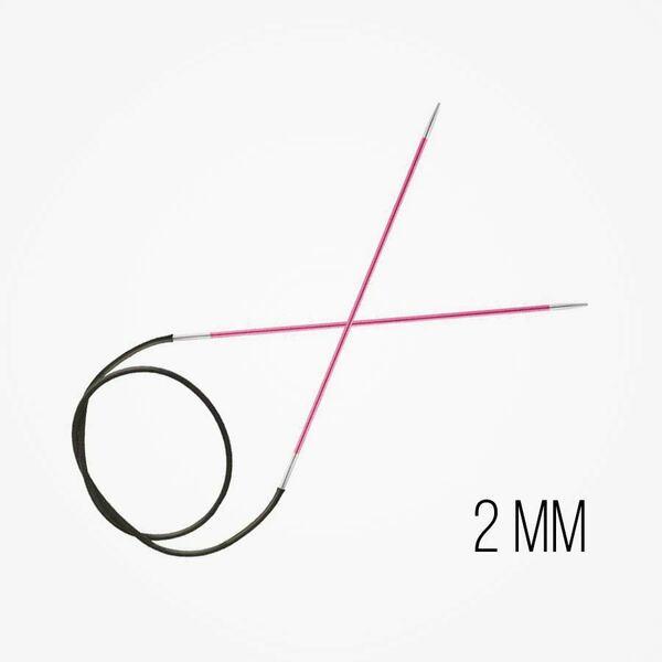 Zing Vaste Rondbreinaalden 2 mm naalddikte KnitPro