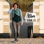 Alba, driehoeksjaal gehaakt met Alpaca Petite