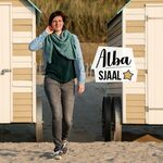 Alba, driehoeksjaal gehaakt met Alpaca Petite Haakpakket