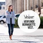 Vesper, de verfijnde Bernadette Vest
