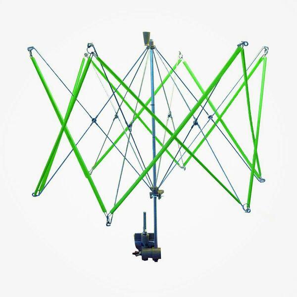Parapluhaspel wolwinder