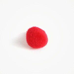 Amigurumi Veiligheidsneus Driehoek Zacht Rood