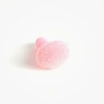 Amigurumi Veiligheidsneus Ovaal Zacht Roze