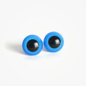Amigurumi Veiligheidsogen Blauw