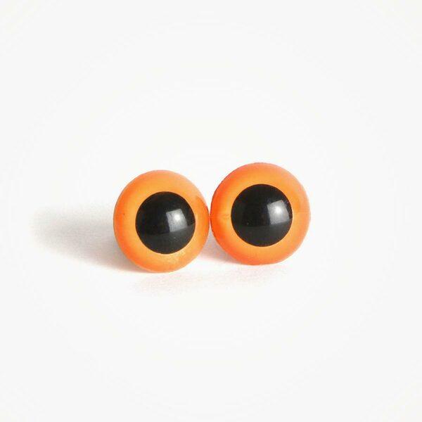 Amigurumi Veiligheidsogen Oranje