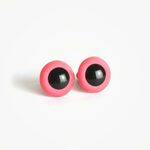 Amigurumi Veiligheidsogen Roze