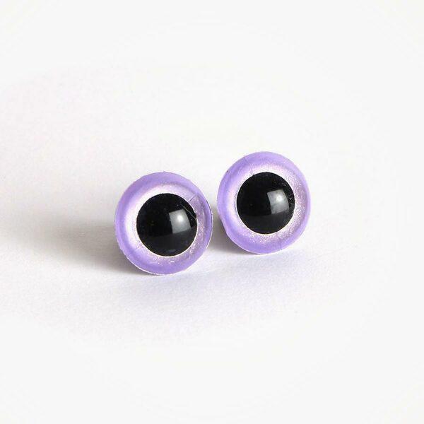 Amigurumi Veiligheidsogen Iris Lavendel