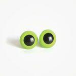 Amigurumi Veiligheidsogen Iris Lichtgroen