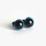 Amigurumi Veiligheidsogen Uil Ster Blauw