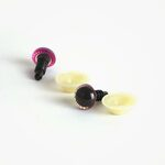 Amigurumi Veiligheidsogen Ster Roze