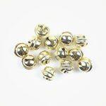 Belletje klein goud 11 mm