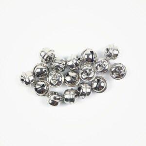 Belletje klein zilver 11 mm