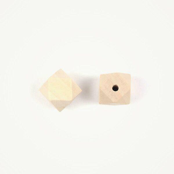 Houten kraal geometrisch 20 mm