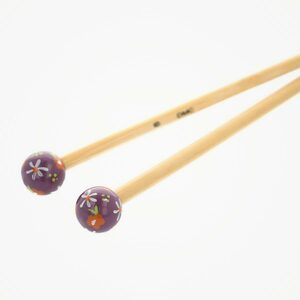 Bamboo breinaalden 40cm (handgeschilderd) DMC