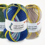 Helsinki Symmetric Socks Katia (100 gram)