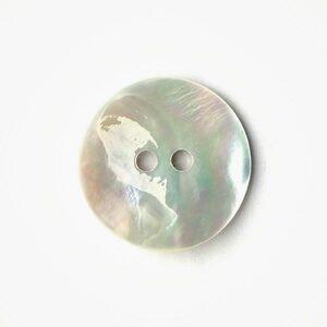 Drops Knoop 540 Gebogen Wit Parelmoer 34 mm