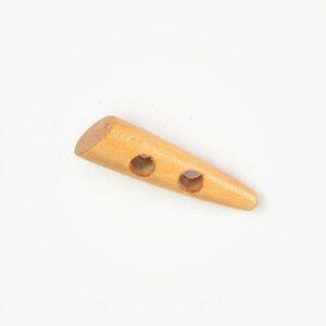 Knevelknoop Hout Beukkleur 50mm