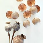 Knoop Royal Gold Textuur 25mm ButtonLine
