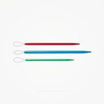 Wolnaalden met lus, Cable Eye Prym (3 naaldmaten)