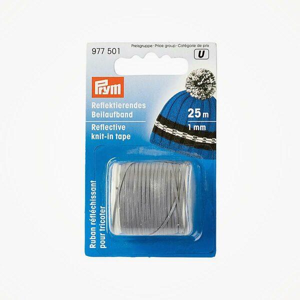 Reflecterende meeloopband 1mm Prym