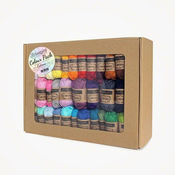 Catona Colour Pack 109 kleuren x 10 gram Scheepjes
