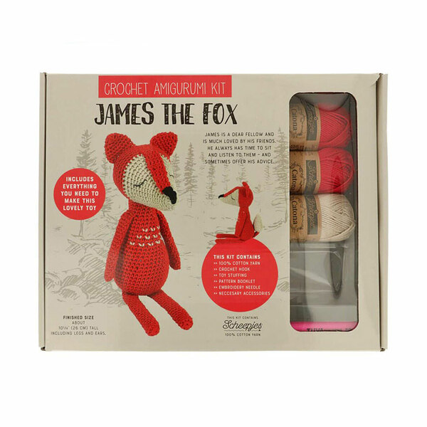 James the Fox Haakpakket Tuva
