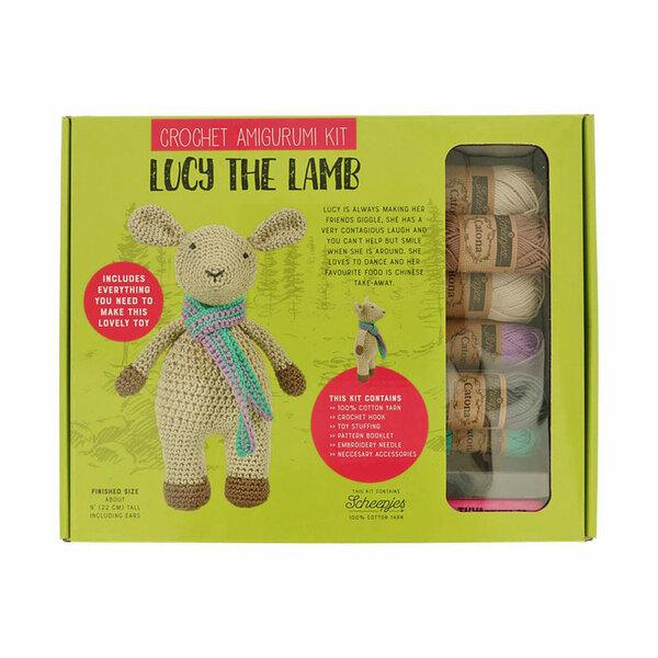 Lucy the Lamb Haakpakket Tuva