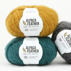 Alpaca Feather Wolnut